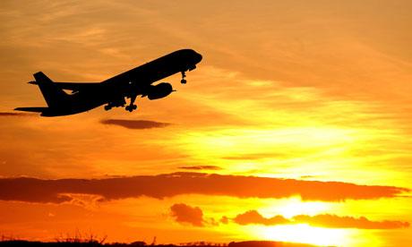 За вдигането на самолета