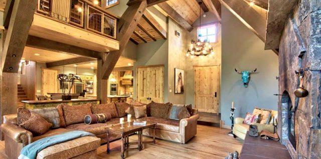 Къща, апартамент или дом в рустик стил